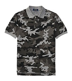 Polo Ralph Lauren® Boys' 8-20 Camo Knit Short Sleeve Top