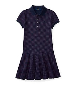 Polo Ralph Lauren® Girls' 7-16 Polka-Dot Knit Dress