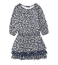 Polo Ralph Lauren® Girls' 7-16 Tiered Woven Dress