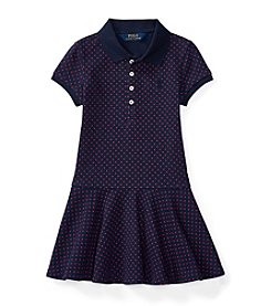 Polo Ralph Lauren® Girls' 2T-6X Polka-Dot Knit Dress