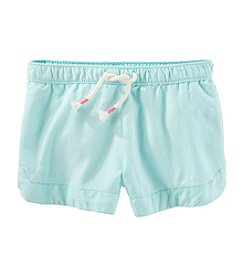 OshKosh B'Gosh® Girls' 2T-8 Woven Shorts