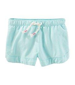 OshKosh B'Gosh® Girls' 2T-8 Woven Shorts
