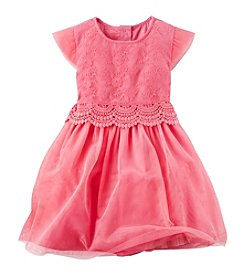Carter's® Girls' 2T-8 Printed Tulle Dress