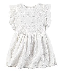 Carter's® Girls' 2T-8 Lace Dress