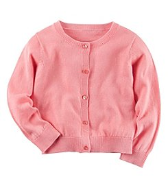 Carter's® Girls' 2T-8 Long Sleeve Cardigan