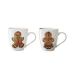 Pfaltzgraff® Gingerbread Two Piece Mug Set