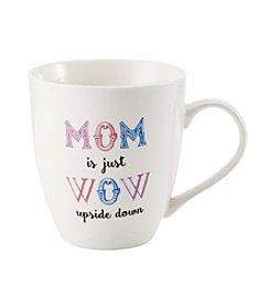 Pfaltzgraff® Mom Is Wow Upside Down Mug
