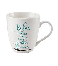 Pfaltzgraff® Relax We're On Lake Time Mug