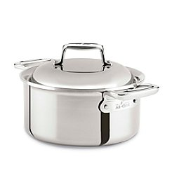 All-Clad® Stainless Steel 3.5-Qt. Round Oven With Lid