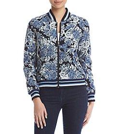 BLANKNYC® Floral Bomber Jacket