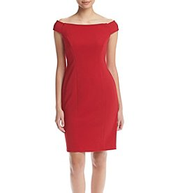 Adrianna Papell® Off Shoulder Sheath Dress