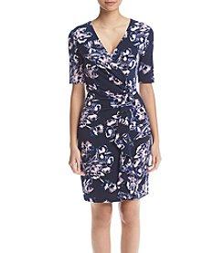 Ivanka Trump® Wrap Lilac Dress