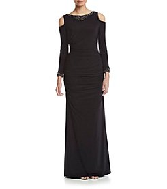 Adrianna Papell® Cold Shoulder Jersey Dress