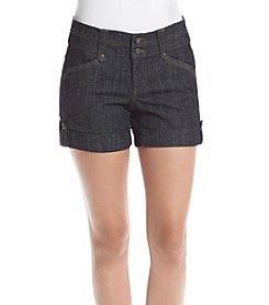 One 5 One® Denim Roll Cuff Shorts