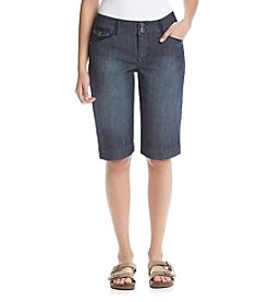 One 5 One® Double Button Flap Pocket Bermuda Shorts