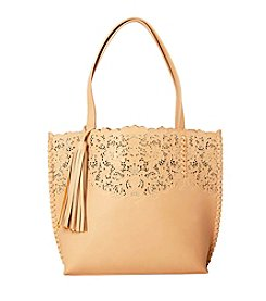 Imoshion Floral Cut-Out Tote with Removable Pouch