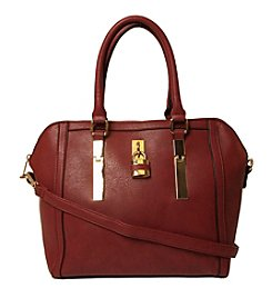 Imoshion Top Zip Satchel with Padlock Detail