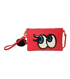 Imoshion Sequin Eyes Wristlet with Pom Pom