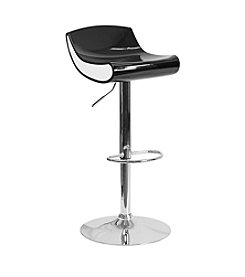 Flash Furniture Contemporary Adjustable Barstool