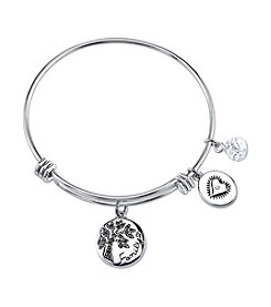 Gratitude and Grace Family Tree Adjustable Bangle