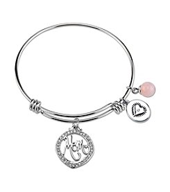 Gratitude and Grace Mom Adjustable Bangle