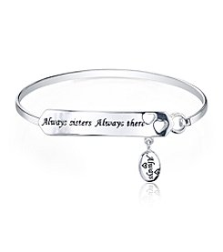 Gratitude and Grace Sisters Catch Bar Bangle