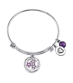 Gratitude and Grace Mother/Daughter Adjustable Bangle