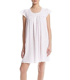 Miss Elaine® Short Rose Sleep Gown