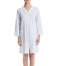 Miss Elaine® Long Rose Sleep Gown