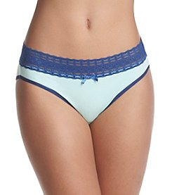 Relativity® Plus Size Lace High Cut Panty