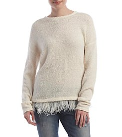 Kensie® Boucle Pullover Sweater