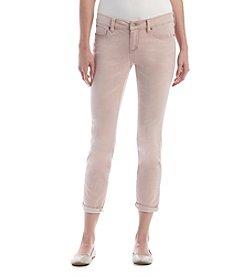 Jessica Simpson Lilac Roll Cuff Skinny Jeans
