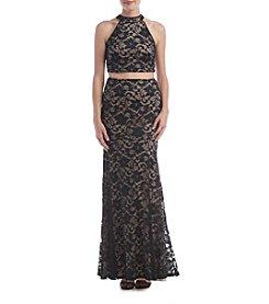 Emerald Sundae® Lace Two Piece Dress