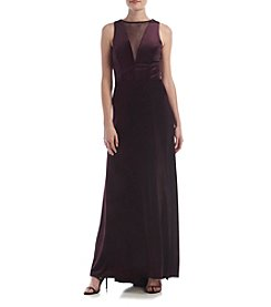 Morgan & Co.® Velvet Gown