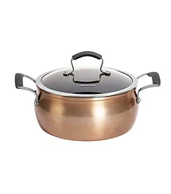 Epicurious 5-Quart Copper Covered Chili Pot