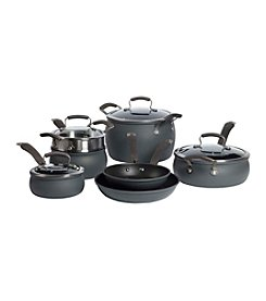 Epicurious 11-Piece Hard-Anodized Aluminum Cookware Set