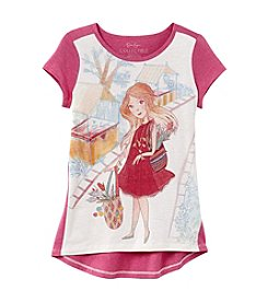 Jessica Simpson Girls' 7-16 Girl Short Sleeve Tee