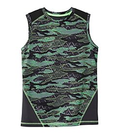 Exertek® Boys' 8-20 Sleeveless Camo Muscle Tee