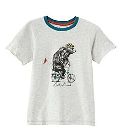Lucky Brand® Boys' 8-20 Bicycle Bear Short Sleeve Tee