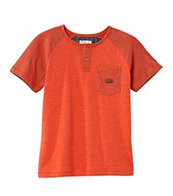 Lucky Brand® Boys' 8-20 Short Sleeve Henley Top