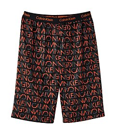 Calvin Klein Boys' 5-16 Logo Sleep Shorts