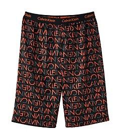 Calvin Klein Boys' Logo Sleep Shorts