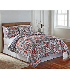 LivingQuarters New Haven Floral Quilt Collection