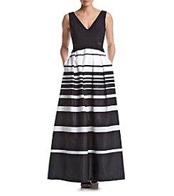 Xscape Long Ity Cutout Dress