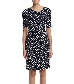 Madison Leigh® Dot Matte Jersey Dress