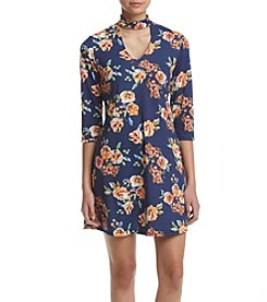 Madison Leigh® Floral Choker Dress