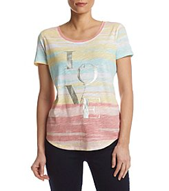 Relativity® Ombre Love Tee
