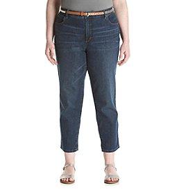Gloria Vanderbilt® Plus Size Stefania Roll Cuff Pants