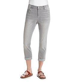 Gloria Vanderbilt® Petites' Stefania Slim Ankle Rollup Pants