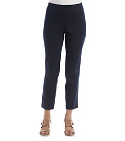 Briggs New York® Petites' Cotton Super Stretch Ankle Pants